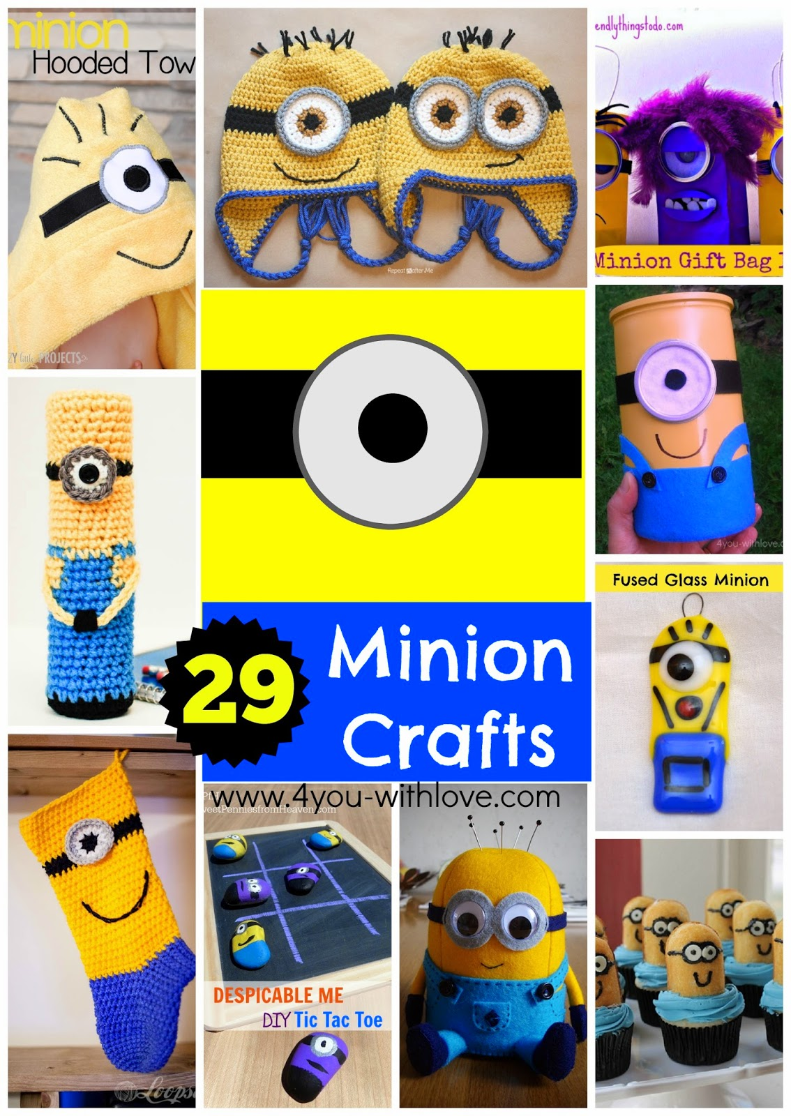 29 Minion Items to Make!