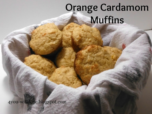 My Favorite Spices – Orange Cardamom Muffins